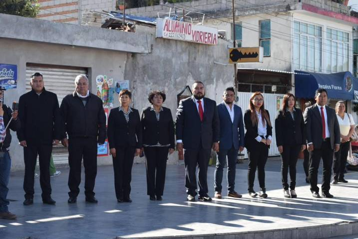 Badillo Jaramillo encabezo el CVIII aniversario de la Revolución Mexicana