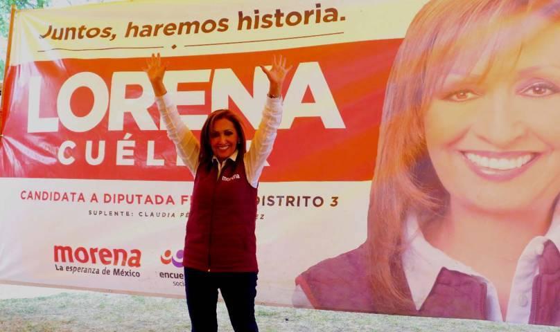 Lorena invita a la visita de AMLO a Zacatelco