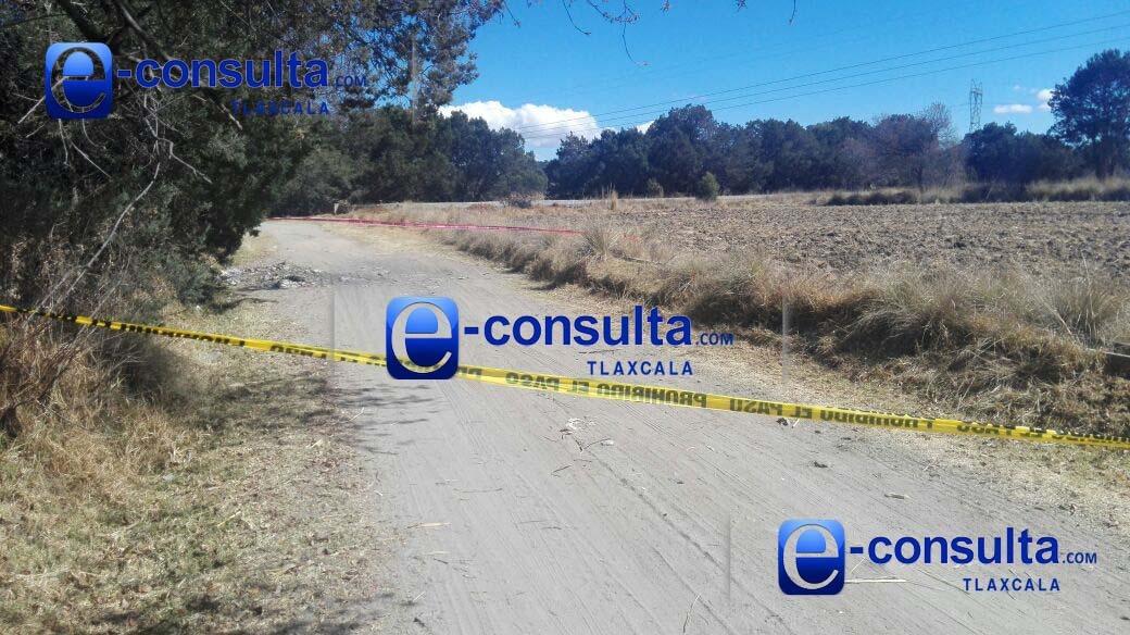 Hallan a otro ejecutado en Texcalac; no fue identificado