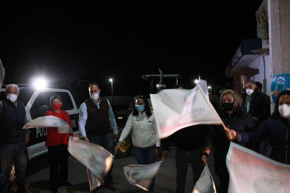 Realizan jornada de sanitización en Yauhquemehcan