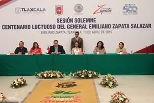 Congreso local llama a trabajar unidos por Tlaxcala