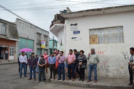 Inicia rehabilitación de la calle Guerrero en Calpulalpan