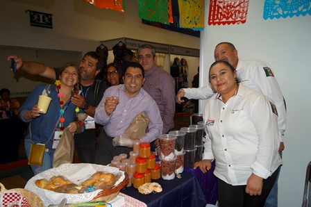 Calpulalpan llegó al World Trade Center de la CDMX con comida Típica