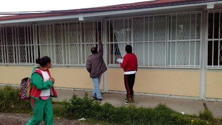 Supervisan estado de escuelas y edificios públicos en Contla