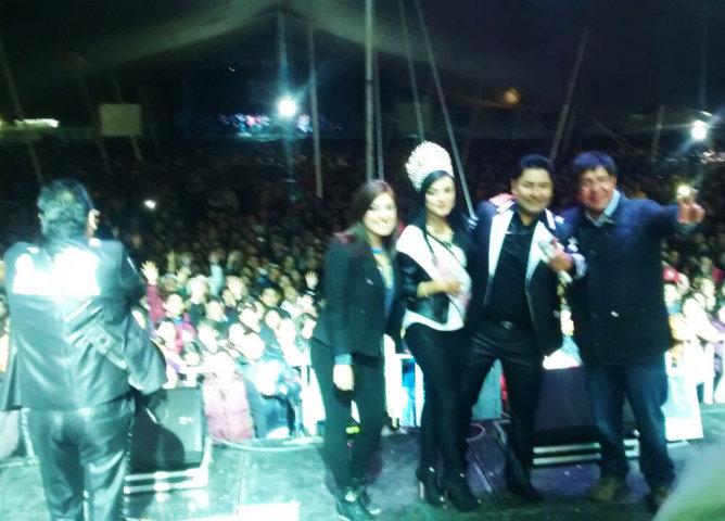 Rebosante éxito del concierto de Feria Nacional del Sarape en Contla