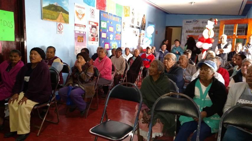 El DIF municipal brinda asesoría y apoyo a las personas de la tercera edad