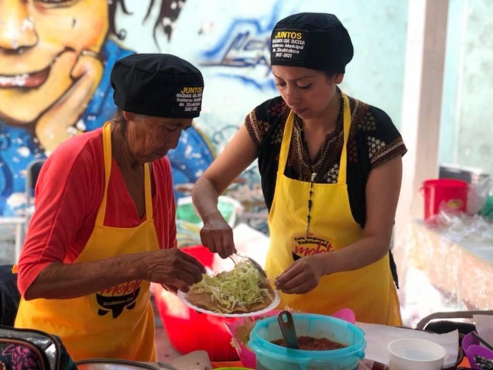Sin precedente, Nueva Feria del Molote en Xicohtzinco