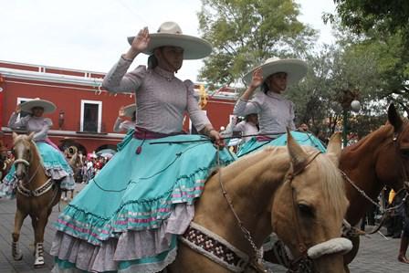 Todo listo para la Cabalgata de la Mexicanidad en la capital