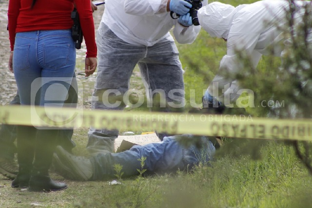 En Tetla aparece cadáver de hombre con signos de violencia