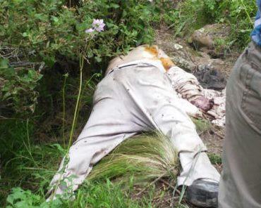 Encuentran en Tlaxco un cuerpo de un hombre en descomposición