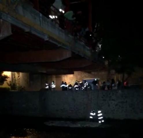 Encuentran cuerpo en el río Zahuapan a la altura del puente rojo