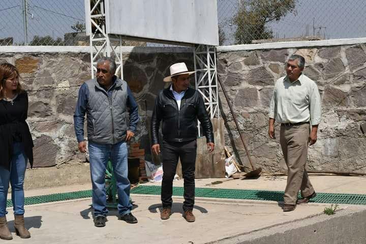 Pérez Rojas pone en marcha planta tratadora de aguas residuales