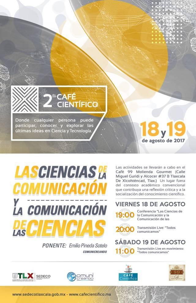 Organiza SEDECO Segundo Café Científico; fomentan la tecnología