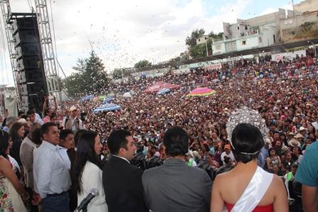 "Inicio de ""Feria de Todos Calpulalpan 2018""  reunió 10 mil personas"