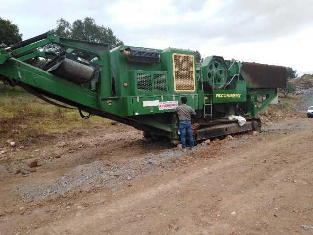 Frena Profepa obras y asegura maquinaria pesada en terrenosforestales de Calpulalpan