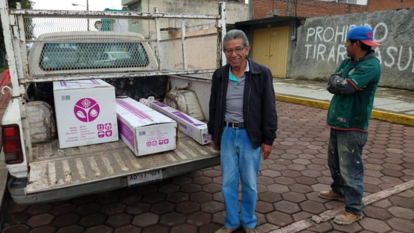 """Favorece a más de 110 familias programa """"Vivienda Sustentable"""" en la capital"""