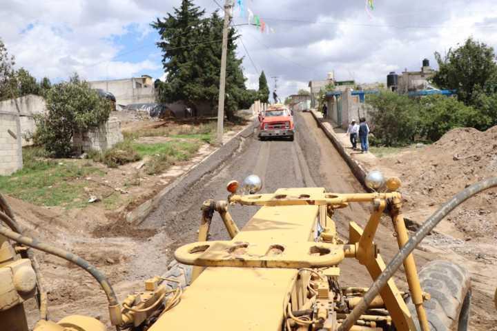 Continúan acciones para mejorar el desarrollo de los habitantes de Huamantla