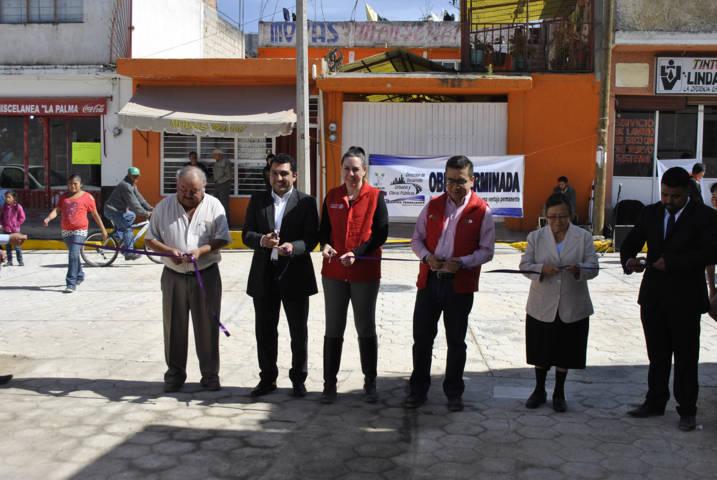 Alcalde mejora la infraestructura básica de la Allende y la Guerrero