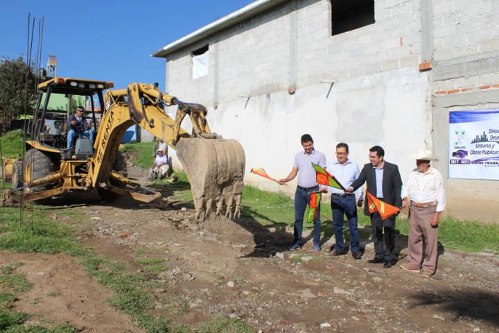 A 30 años la calle Plata de Mazapa contara con pavimentación: alcalde