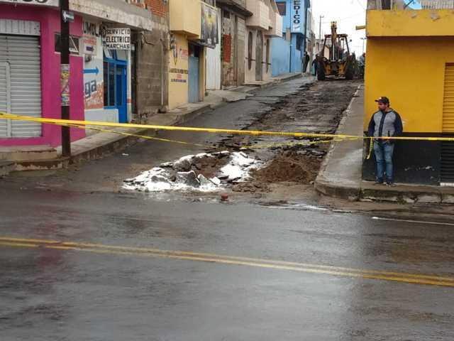 Alcalde mejora la imagen urbana de 2 calles con 3 mil m2 de asfalto