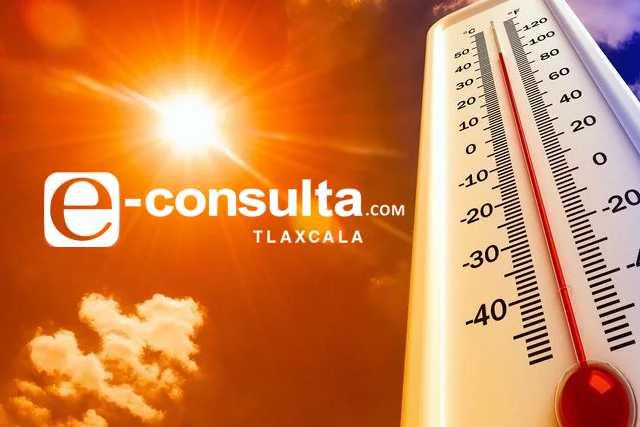 Se esperan temperaturas altas de hasta 45 grados en Tlaxcala