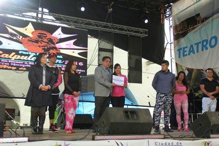 Promueven la salud en Feria Patronal de Calpulalpan