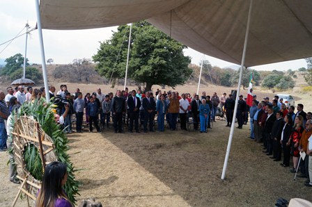 Alcalde encabeza conmemoración de la batalla del Puente Márquez