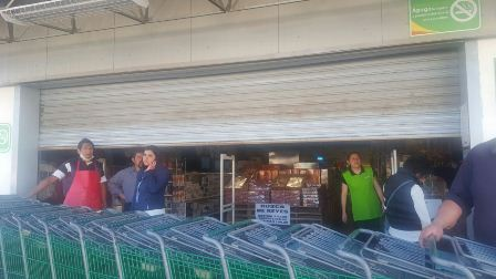 Cierran negocios en Calpulalpan por temor a saqueos