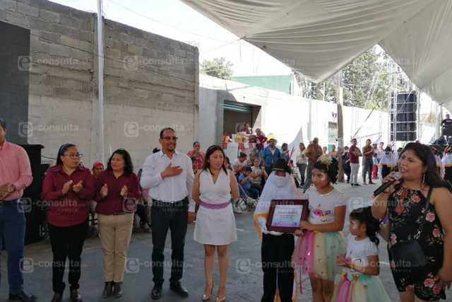 Camada Monumental de Chimalpa la reconocen por su trayectoria en Xiloxoxtla