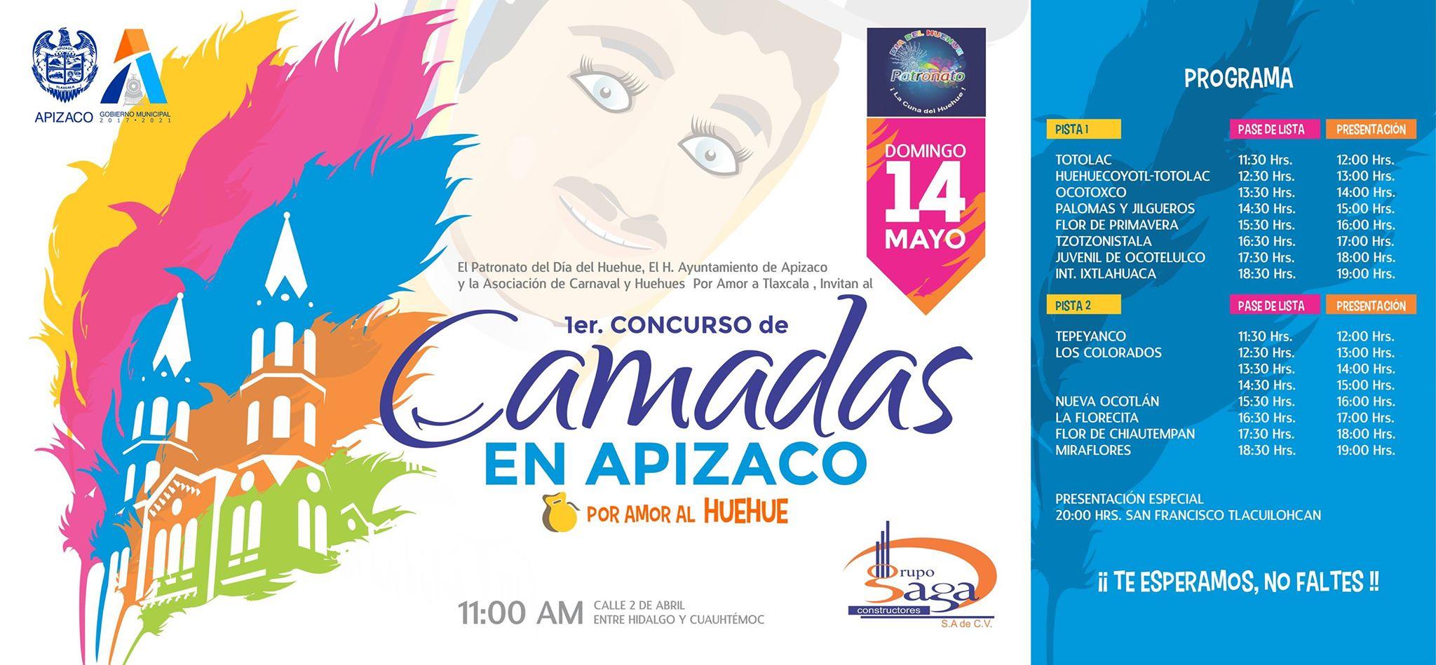 Organiza Ayuntamiento de Apizaco gran domingo familiar