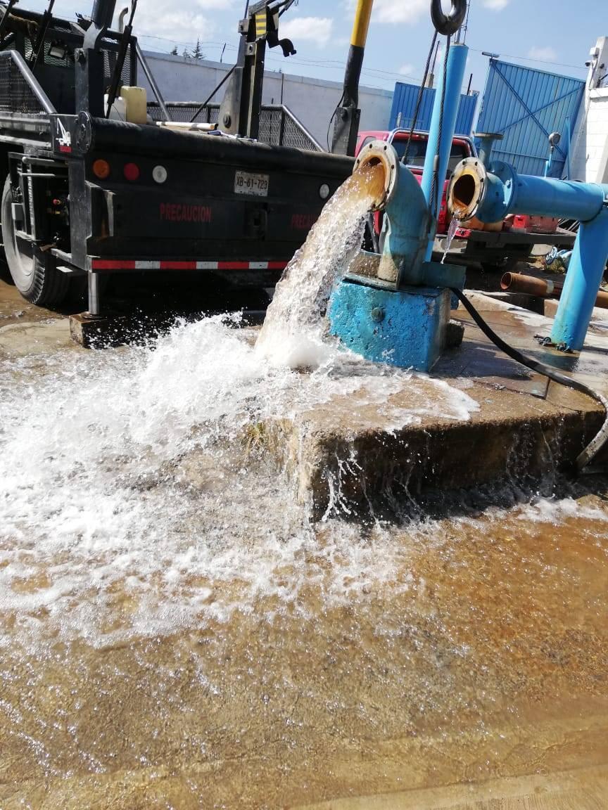 Con el cambio de bomba en San Antonio, suministro se reanuda el lunes: CAPAMH