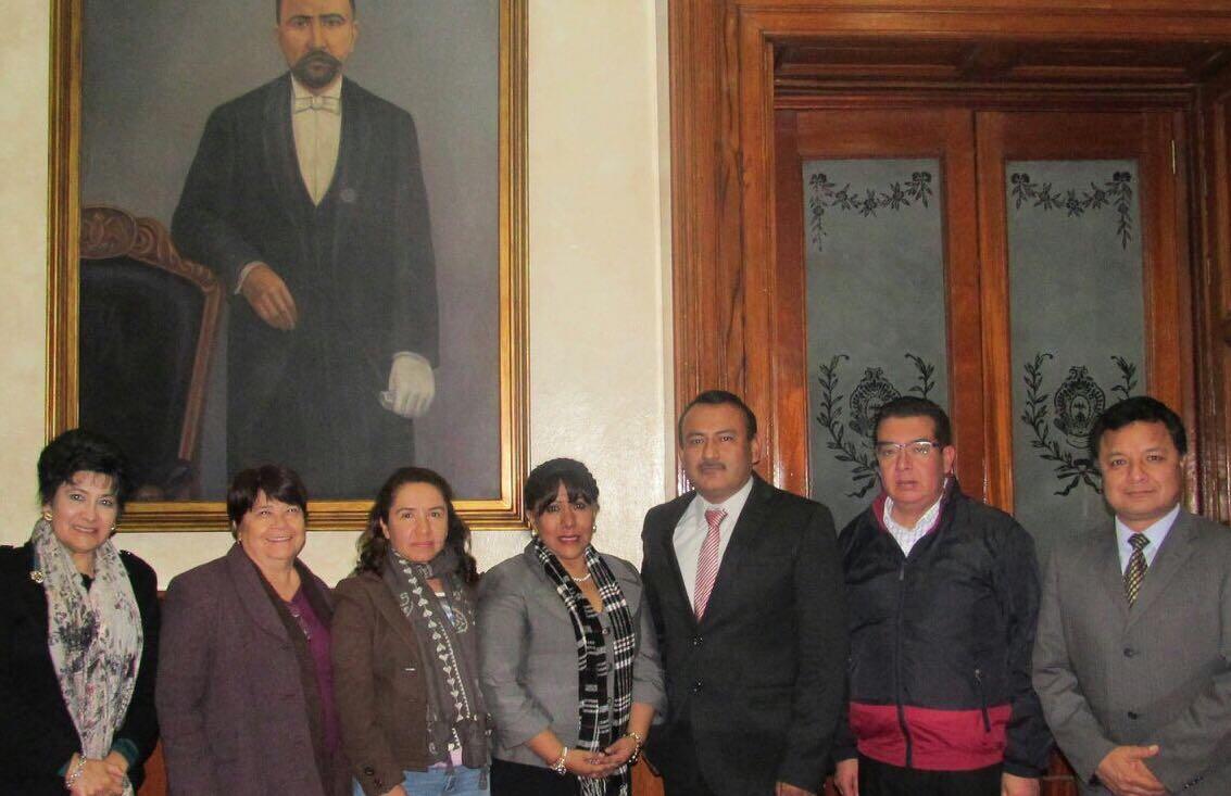 Realizan Anabell cambios en el ayuntamiento de Tlaxcala