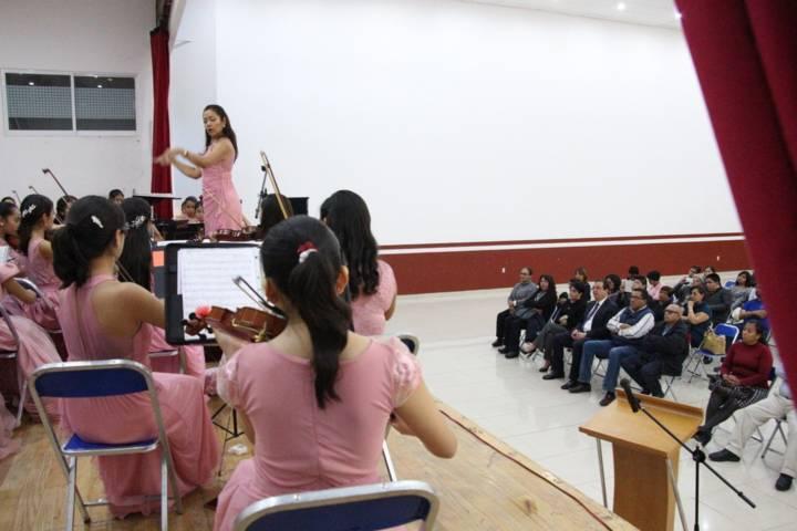 Con la Camerata Femenil concluyen actividades del Día Internacional de la Mujer