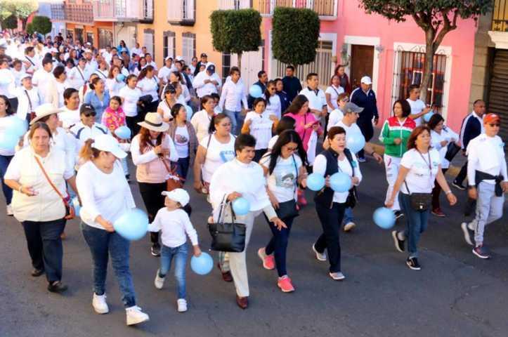 """Realiza Segob caminata en el marco del """"Día Mundial Contra La Trata De Personas"""""""
