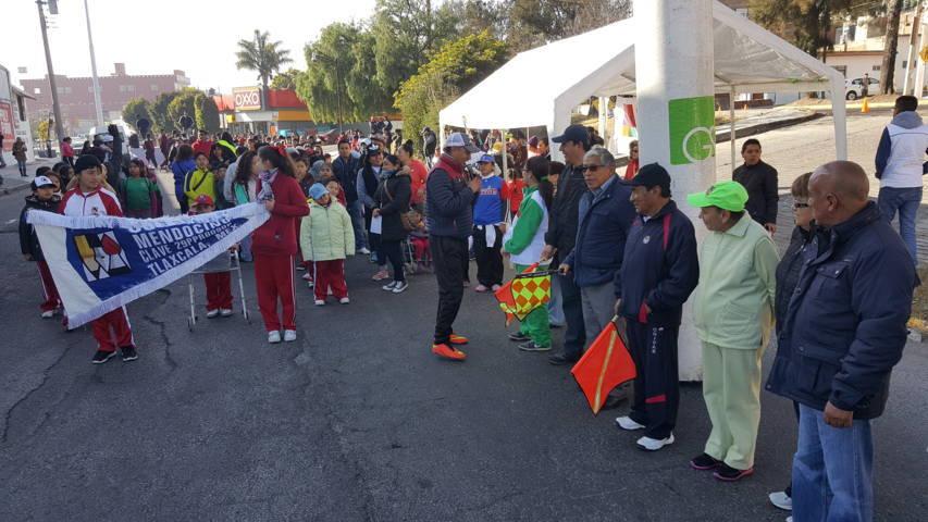 Convoca comuna capitalina a Caminata por tu salud y zumba en tu delegación en El Sabinal