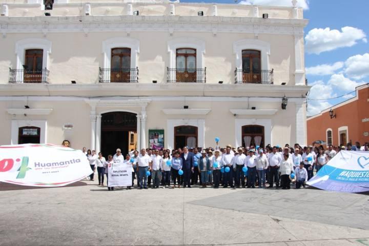 Ayuntamiento se suma con una caminata a la lucha contra la trata de personas