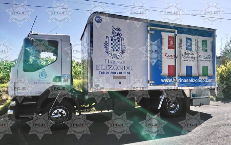 Frustra PGJE robo de camión de carga