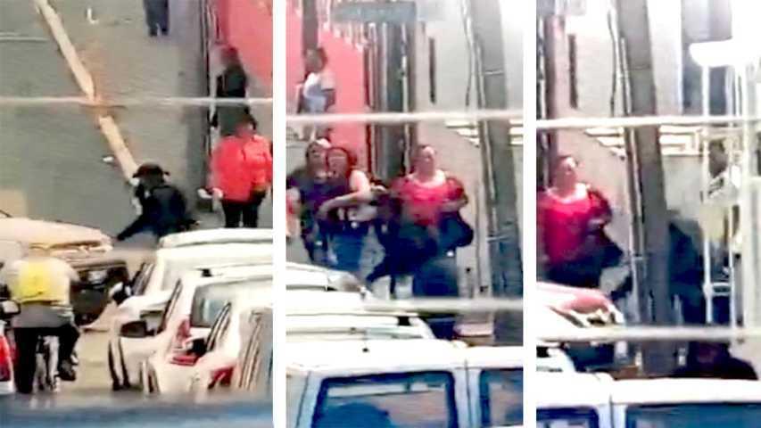 Aseguran a Elia N. por tentativa de homicidio y lesiones contra policías municipales