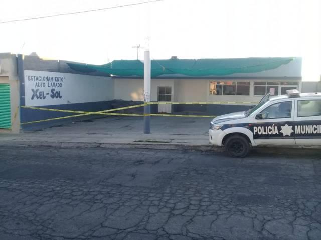 Policía municipal recupera camioneta robada en la carretera Amozoc-Perote