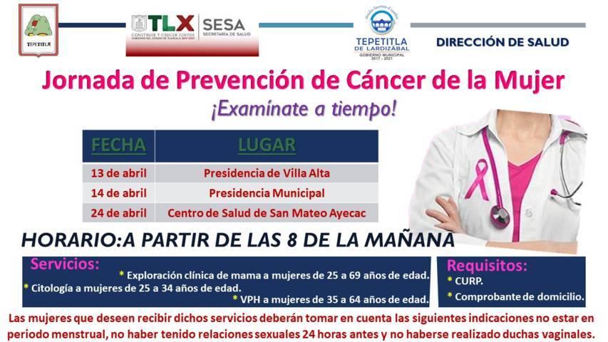 Lardizábal y Sesa invitan a la Jornada de Prevención de Cáncer de la Mujer