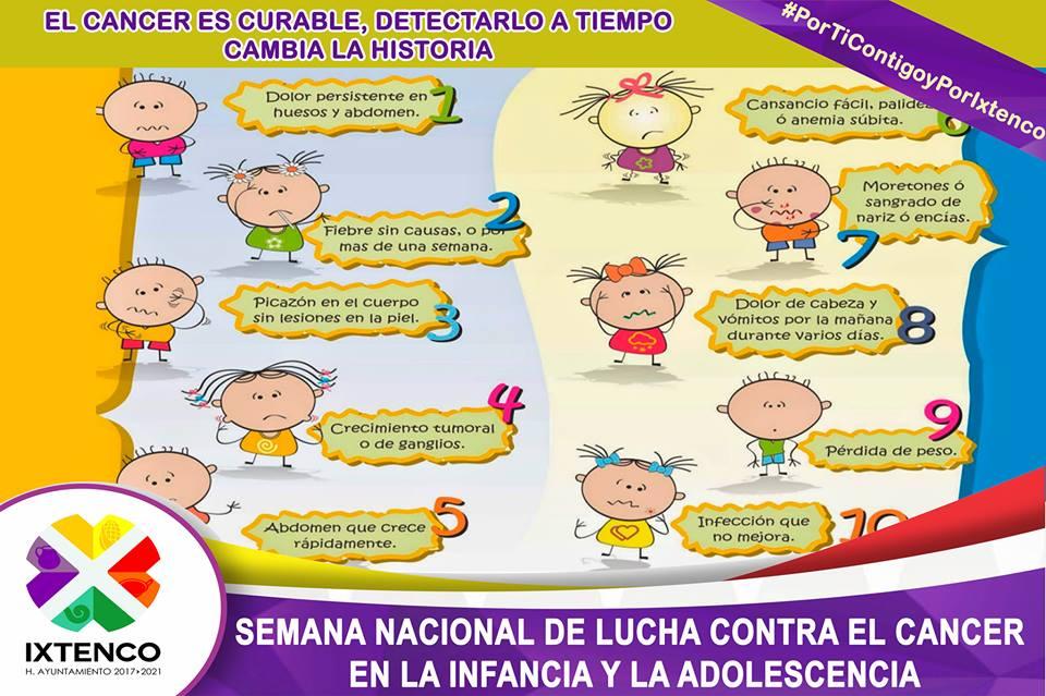 CONMEMORAN EN IXTENCO EL DIA INTERNACIONAL DE LA LUCHA CONTRA EL CANCER INFANTIL