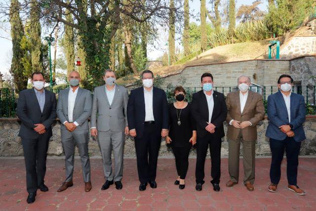 Marco Mena se reúne con presidente de la Canacintra