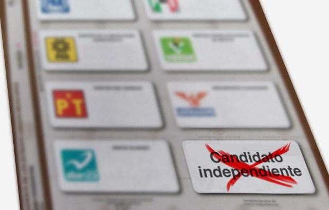 Aspirante independiente al Congreso local con más firmas es de mil 260 y el de menos 19
