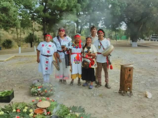 Difunden cultura de Tlaxcala en Zona Arqueológica de Puebla