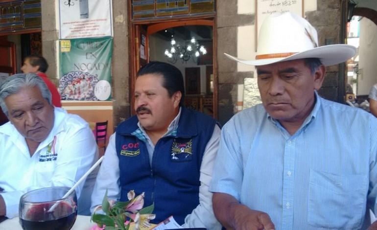 Se movilizan campesinos de Tlaxcala contra recortes al campo