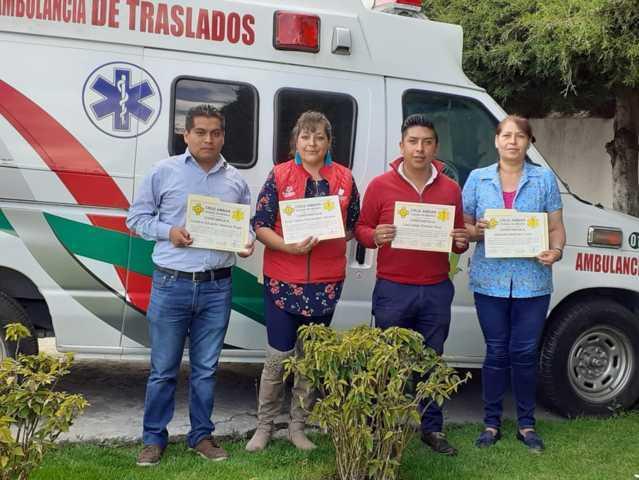 El DIF municipal de Huamantla se capacita en primeros auxilios