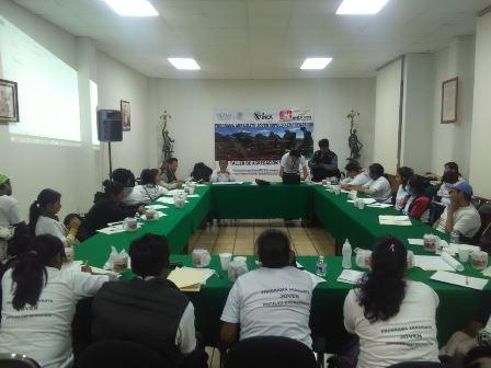 Capacitaron a jóvenes en proyectos dirigidos al campo