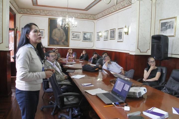 Capacita INEGI a personal de la capital sobre manejo de información
