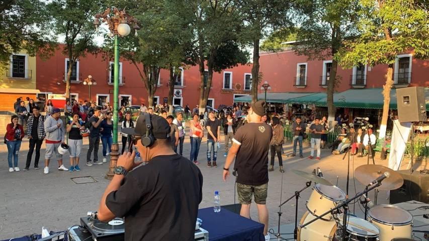 """Al ritmo de rap y rock realiza ayuntamiento de Tlaxcala el """"Capital Suena"""""""