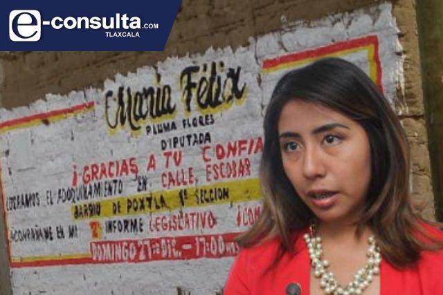 María Félix arranca campa electoral, ahora quiere ser presidenta de Tlaltelulco